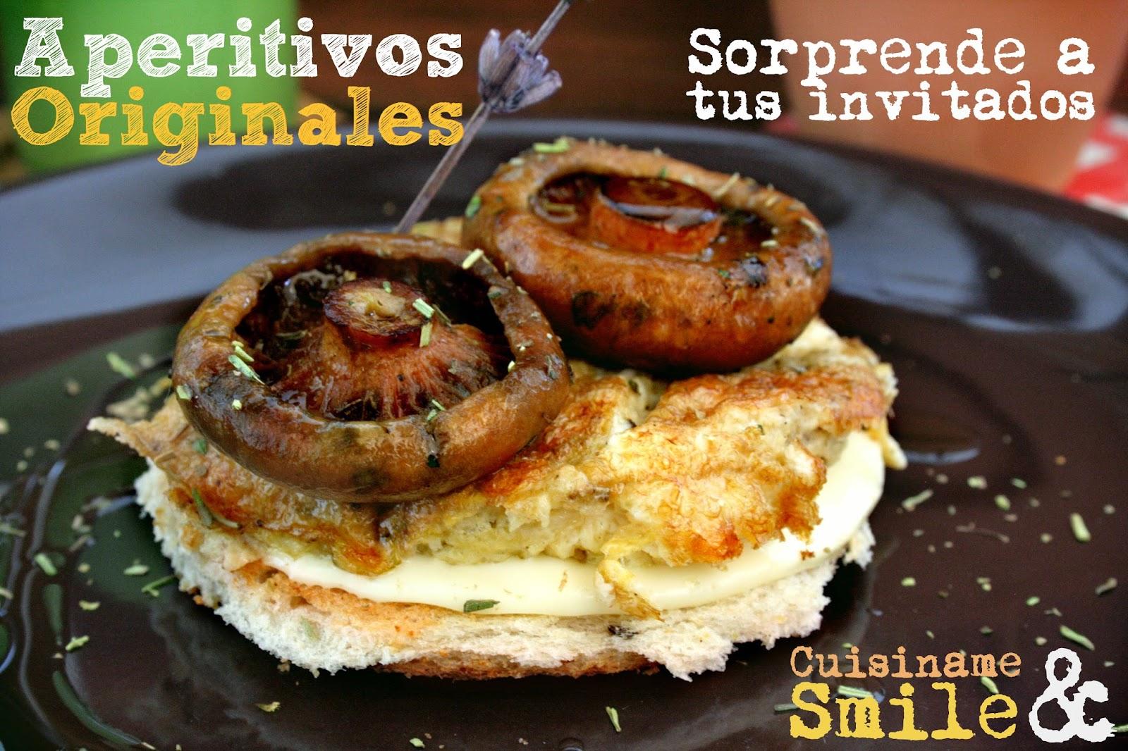 Marvelous Tapas, Tapas Originales, Aperitivos, Rebollones, Robellones, Níscalos,  Tortilla, Huevos